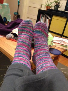 Vanilla Socks, finished January 10